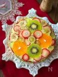 フルーツドットケーキ