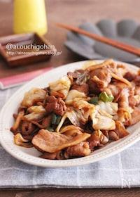 『味付け冷凍で平日を楽にする♡作る時は5分仕上げ!簡単回鍋肉♡』