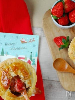 苺とショコラのポットパイスープ。