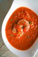パンにもご飯にも♡アレンジ出来ちゃう♡海老のトマト煮込み