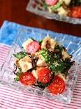 【豆腐と大葉の塩こんぶ和え】さっぱりヘルシー♬︎