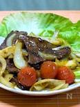 牛肉のカレージャン炒め