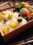 ほっこり和風〜栗の混ぜご飯のお弁当〜