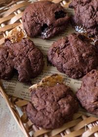 『さっくりチョコクッキー【ホットケーキミックス&トースター】』