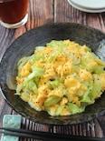 包丁まな板不要♪キャベツと卵の中華ペッパー炒め