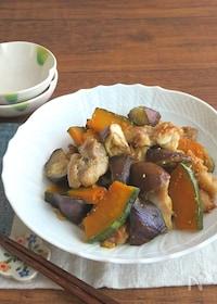 『ごはんがすすむ☆チキンと野菜のバタポン炒め♪お弁当にも◎』
