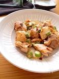 味も食感も👍♡鶏もも肉とオクラと長芋のおかかマヨポンソテー