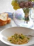ブロッコリーと鶏ひき肉のクリームボロネーゼ