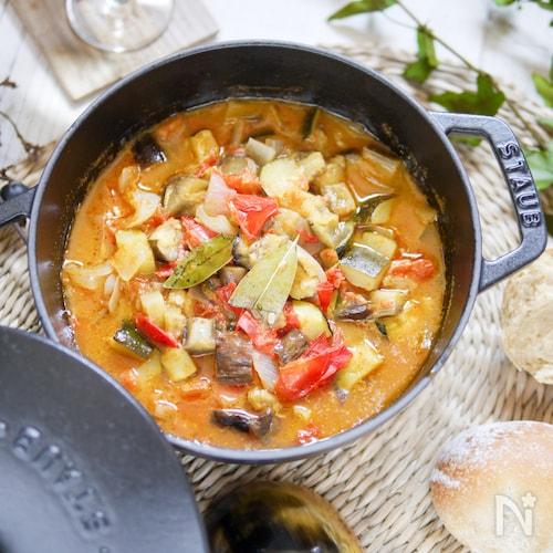 野菜たっぷり和風ラタトゥイユ