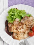 豚ロース肉のハニーマスタードソテー