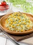 青のりコーンのおつまみポテトサラダ*レンジで簡単・食材2つ*