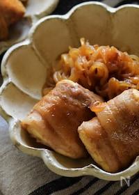 『ヘルシーボリュームおかず。生姜焼き風むっちり肉豆腐』