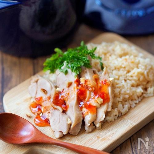 【STAUB】アジアン鶏飯