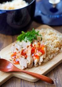『【STAUB】アジアン鶏飯』