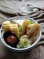 お弁当に〜桜えびクリームのもやレタちくわ〜(作りおき常備菜)