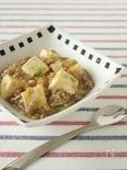 給食の麻婆豆腐