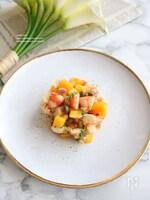 海老とマンゴーのサラダ