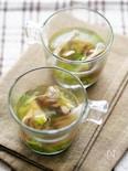 舞茸のネギスープ