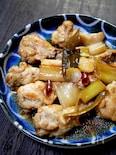 鶏手羽元とのポン酢煮