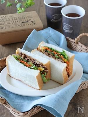 キンパ風サンドイッチ