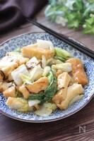 味付けはたったの二つ♡厚揚げと白菜の和風とろみ煮