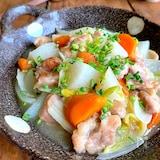 秋のほっこりおかず【鶏もも肉と旬野菜の旨とろ煮】