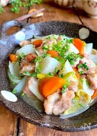『秋のほっこりおかず【鶏もも肉と旬野菜の旨とろ煮】』