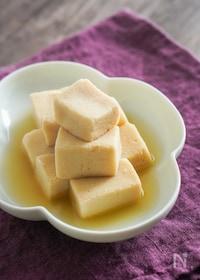 『高野豆腐の煮もの【離乳食完了期の取り分けにも】』