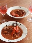 お肉トロトロ♪牛肉トマト煮込み