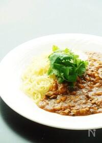 『ツナのジャージャー麺』