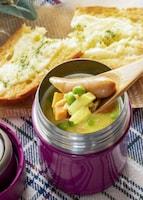 スープジャーで豆乳カレースープ