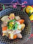 冬を楽しむ♡根野菜の旨だし炊いたん