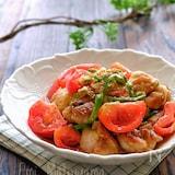 揚げずに簡単!鶏肉のスタミナトマト南蛮漬け