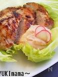 お弁当に〜豚ヒレ肉の醤油麹マヨワイン漬けソテー