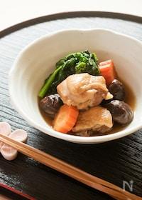 『鶏肉とお野菜の炊き合わせ』