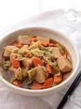 こうや豆腐とツナの旨煮