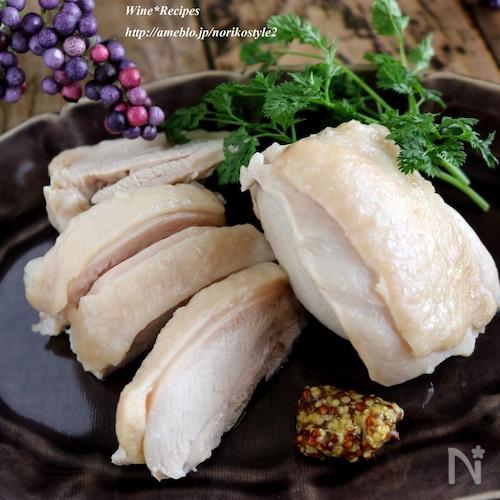 【作り置きおつまみ】鶏もも肉の白ワイン煮