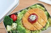 """お弁当のごはんに♪""""カレー風味のハムカツ丼"""""""