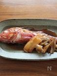 ふっくら美味しい金目鯛の煮付け