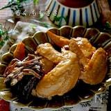 ホロホロ~ほどける柔らかさ!鶏手羽先と昆布の和風煮込み