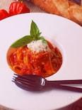 基本のトマトソースパスタ〜レストランの味をお家で簡単に♪