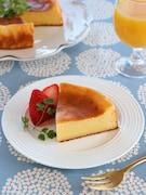 ホットケーキミックスで作るチーズケーキ