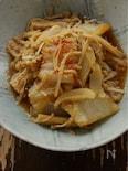 白菜えのきのトロトロ胡麻ラー油