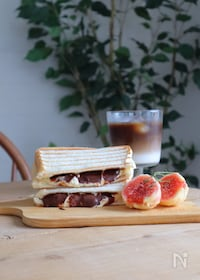 『マスカルポーネチーズとチョコのとろ~りホットサンド』