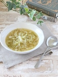 キャベツの燻製スープ