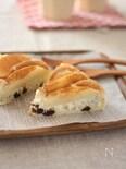 オイル&シュガー&グルテンフリー♪りんごの米粉ケーキ