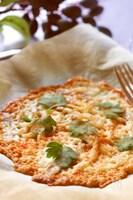 オーブントースターで5分!パリパリチーズ焼き