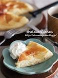 甘いものが苦手な人にも好まれる味♡HMで簡単*りんごのケーキ
