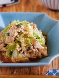 お肉が柔らか♪『豚しゃぶキャベツのネギだく中華だれ』