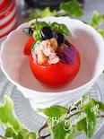 【簡単おもてなし】お豆のトマトカップサラダ